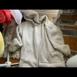 American eagle Sherpa sweater oversized